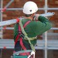 Construction site worker